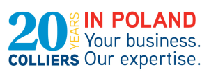 KV_20_YEARS_Colliers_Logo_poziom_1_PM